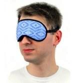 повязка для сна синяя 2-min