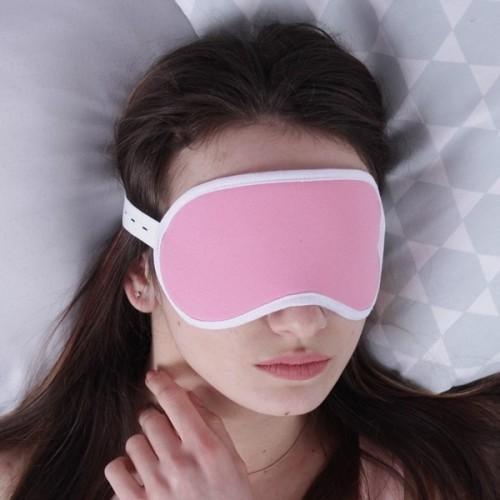 розовая маска для сна
