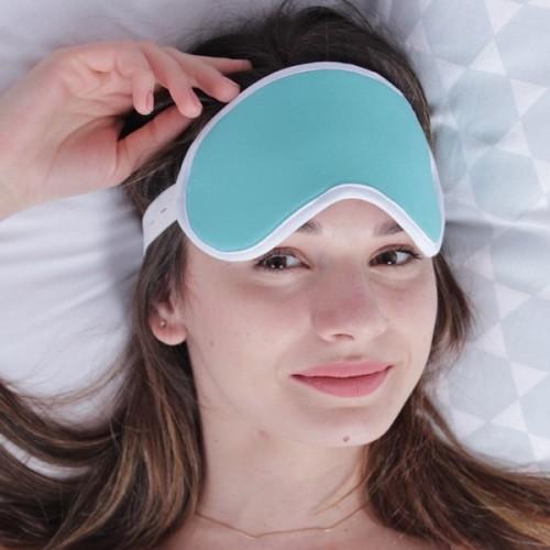повязка для сна мятного цвета
