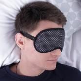 маска для сна черная в горох Fuddy Duddy