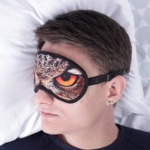 маска для сна сова