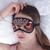 Глаза совы маска для сна