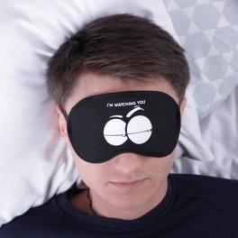 повязка для сна с глазами