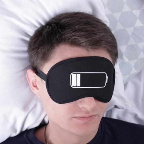 батарейка маска для сна