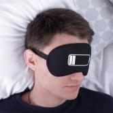 Повязка для сна батарейка