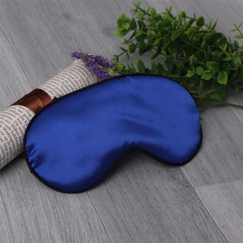 шелковая маска синяя