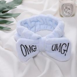 повязка косметическа с вышивкой omg