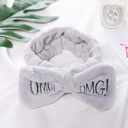 косметическая повязка серого цвета omg