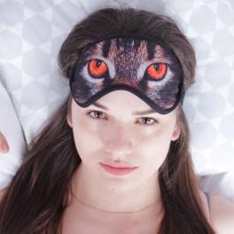 маска для сна кошачьи глаза