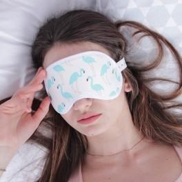 маска для сна фламинго